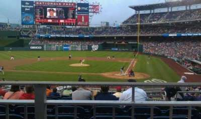 Nationals Park section 119