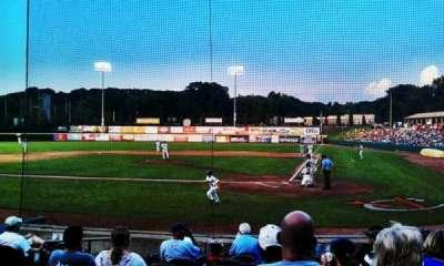 Joseph L. Bruno Stadium, section: 110, row: L, seat: 19