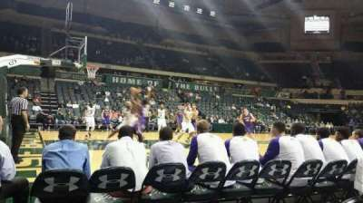 USF Sun Dome, section: 115, row: A, seat: 2