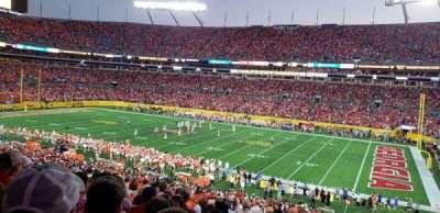 Bank of America Stadium, section: 312, row: 16, seat: 2