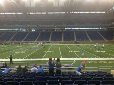 Ford Field section 107