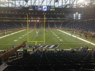 Ford Field section 138