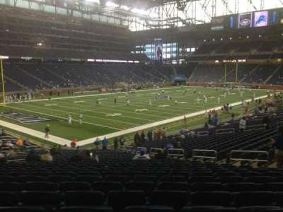 Ford Field section 121