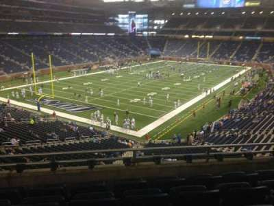 Ford Field section 222