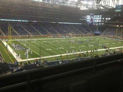 Ford Field section 225