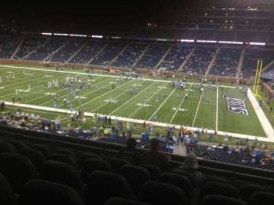 Ford Field section 235