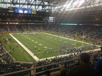 Ford Field section 240
