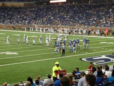 Ford Field section 113