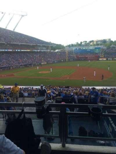 Kauffman stadium, section: 237, row: JJ, seat: 3