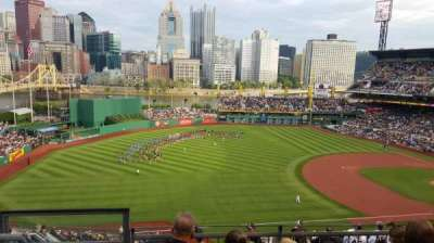 PNC Park, section: 328, row: D, seat: 16