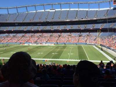 Empower Field at Mile High Stadium section 120