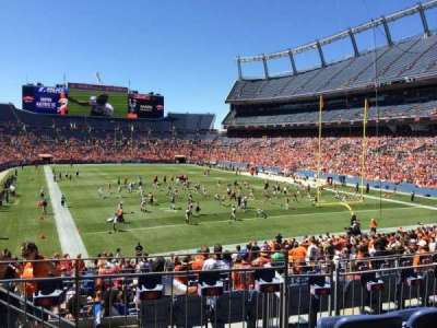 Sports Authority Field at Mile High, section: 116, row: 28, seat: 13