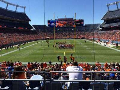 Sports Authority Field at Mile High, section: 114, row: 25, seat: 8