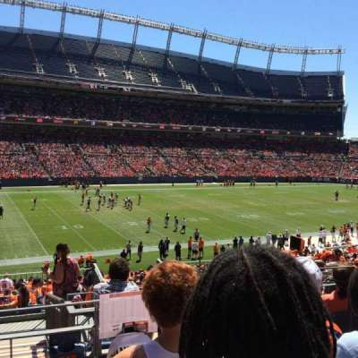 Sports Authority Field at Mile High, section: 109, row: 36, seat: 4