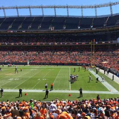 Sports Authority Field at Mile High, section: 101, row: 27, seat: 10