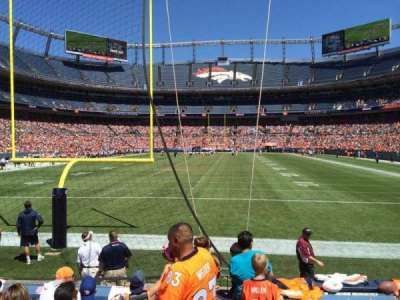 Invesco Field at Mile High, section: 131, row: 5, seat: 7