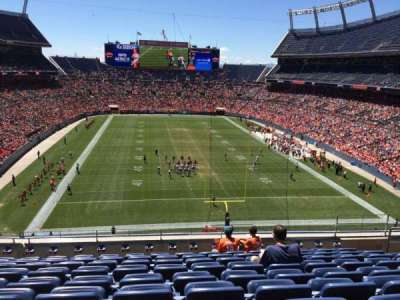 Sports Authority Field at Mile High, section: 325, row: 9, seat: 7