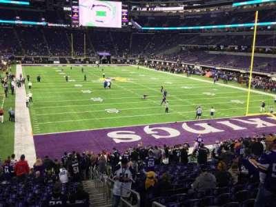 U.S. Bank Stadium section 101