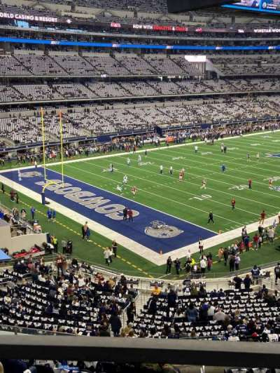 AT&T Stadium, section: 343, row: 1, seat: 16