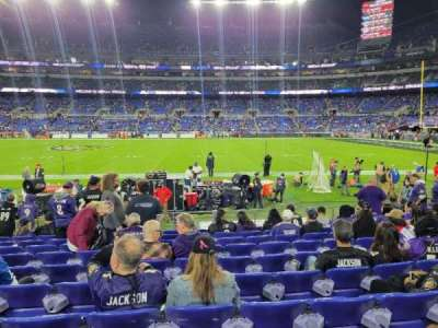 M&T Bank Stadium, section: 125, row: 10, seat: 13