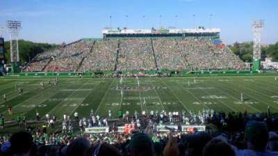 Mosaic Stadium, section: 41, row: 18, seat: 21