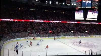 Northlands Coliseum, section: 222, row: 21, seat: 9