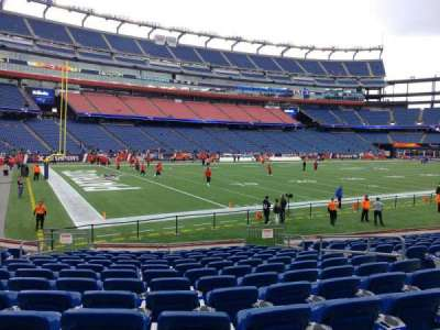 Gillette Stadium section 137
