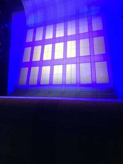 Alice Griffin Jewel Box Theatre, section: Orchestra, row: B, seat: 4