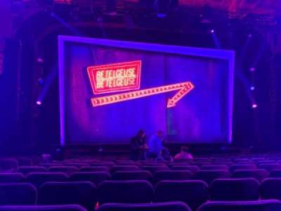 Winter Garden Theatre, section: Orchestra C, row: M, seat: 115