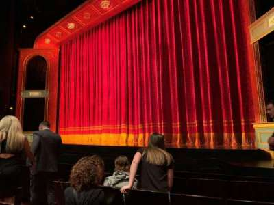 Marquis Theatre, section: Orchestra R, row: F, seat: 10