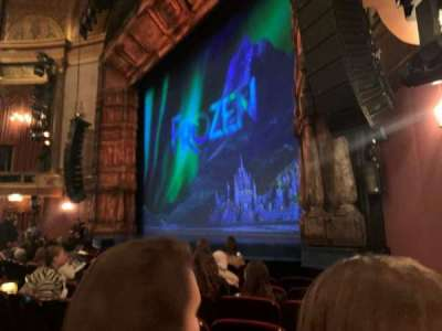 St. James Theatre, section: Orchestra R, row: G, seat: 24