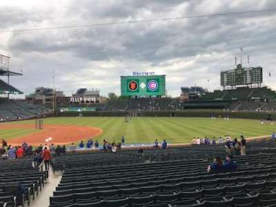 Wrigley Field section 124