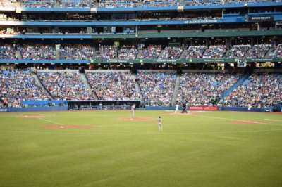 Rogers Centre, section: 139, row: 1