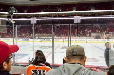 Wells Fargo Center, section: 102, row: 3