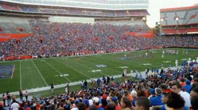 Ben Hill Griffin Stadium, section: 44, row: 32, seat: 27