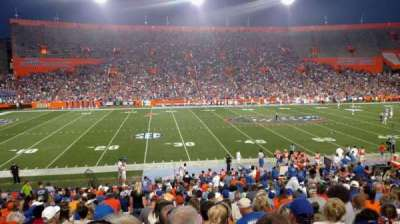 Ben Hill Griffin Stadium, section: 11, row: 32, seat: 14