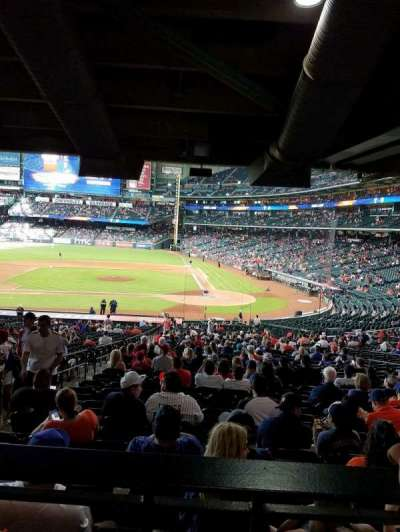 Minute Maid Park, section: 116, row: 40, seat: 4