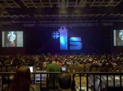 Borgata Event Center, section: C, row: G, seat: 6
