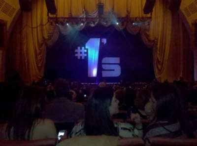 Radio City Music Hall, section: Orchestra 4, row: C, seat: 408