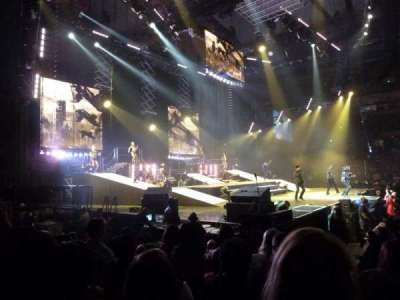 Royal Farms Arena, section: 105, row: B, seat: 7