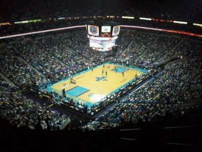 Smoothie King Center, section: 305, row: 17, seat: 3