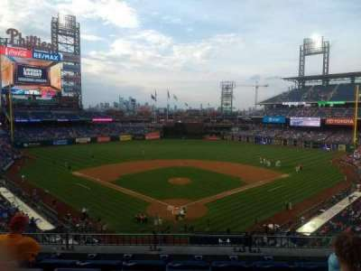 Citizens Bank Park, section: 222, row: 5, seat: 7