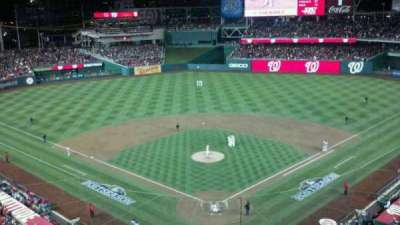Nationals Park, section: 313, row: A, seat: 4