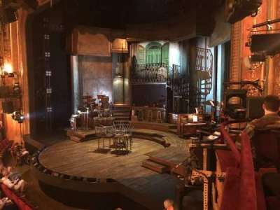 Walter Kerr Theatre section Box A