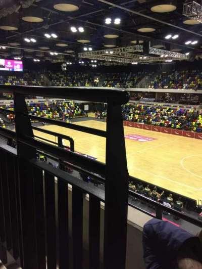 Copper Box Arena section 210