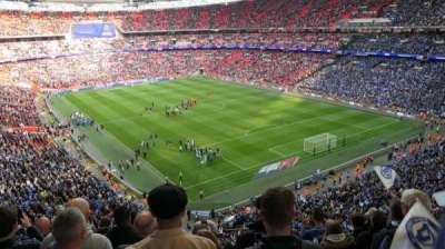 Wembley Stadium section 544