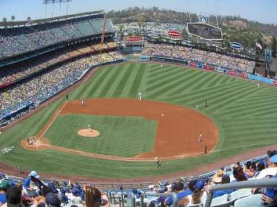 Dodger Stadium, section: 16RS, row: P, seat: 19