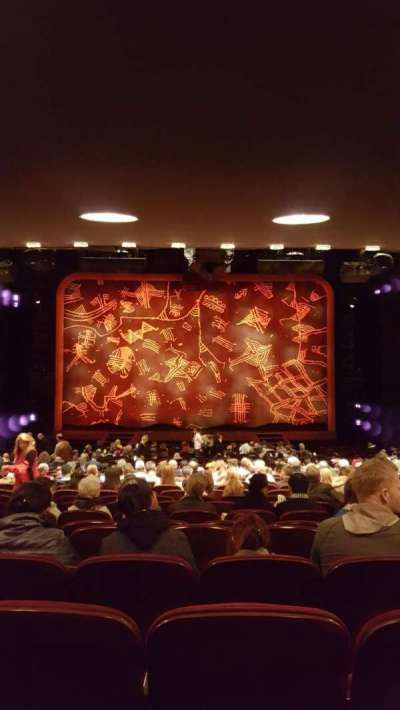 Minskoff Theatre, section: ORCH, row: ZZ , seat: 115