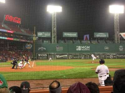 Fenway Park section Field Box 38