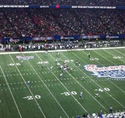 Georgia Dome, section: 325, row: 2, seat: 16